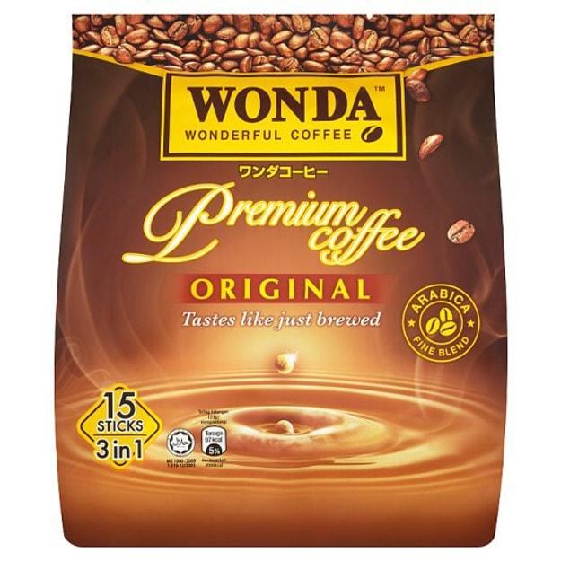 商品详情 - 【马来西亚直邮】马来西亚 WONDA 原味优质三合一咖啡 15pcs - image  0