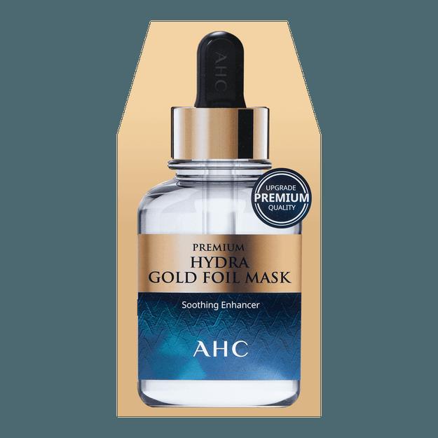 Product Detail - A.H.C. Premium Hydra Gold Foil Mask 5sheets - image 0
