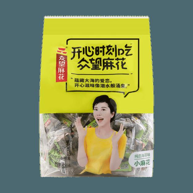 商品详情 - 众望 一口脆小麻花 海苔味 512g - image  0