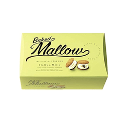 BAKED MALLOW Mashmallow Chocolate Sand Cookie 6pc
