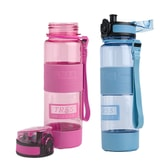 TAI HE Ion Energy Sports Water Bottle #Blue+Pink 500ml TR55-500N