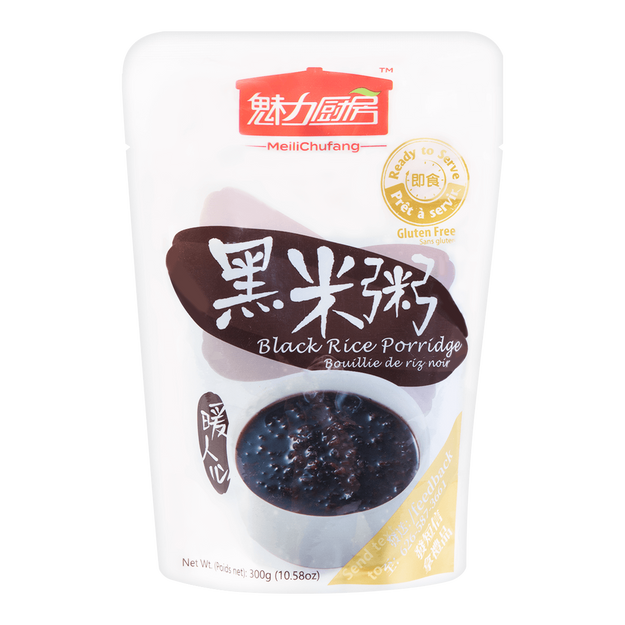 Product Detail - TOTOLE MeiliChufang Sugar Black Rice Porridge 300g/pouch - image 0