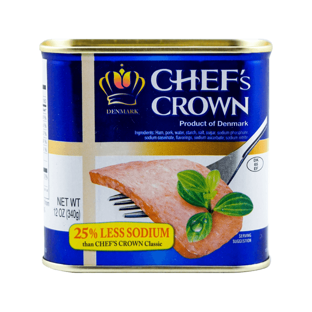 Product Detail - CHEF\'S CROWN Premium Low-Salt Luncheon Meat 340g - image 0