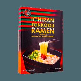 日本ICHIRAN一兰拉面  博多细面 3人食 453g 美版