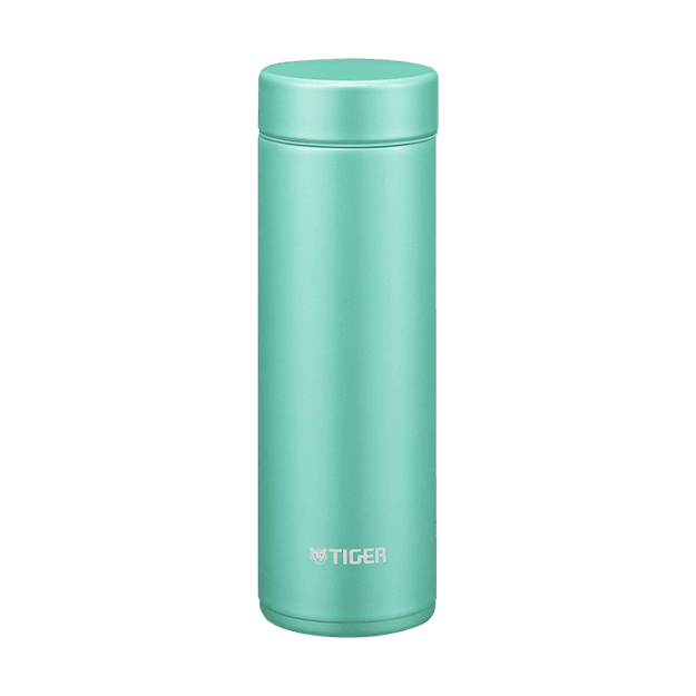 Product Detail - TIGER Stainless Steel Vacuum Insulated Thermal Bottle Mug Emerald #Powder Green 300ml MMP-J030 - image 0
