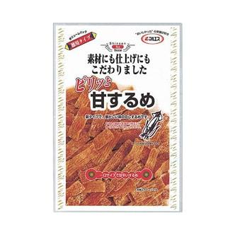 日本MARUESU 珍品海味 甜辣鱿鱼条 75g