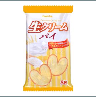 日本FURUTA 奶油蝴蝶酥 8枚入