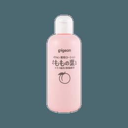日本PIGEON贝亲 婴儿爽身露桃叶精华 桃子水 200ml