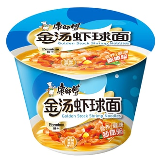 MASTER KONG Golden Stock Shrimp Noodles 109g