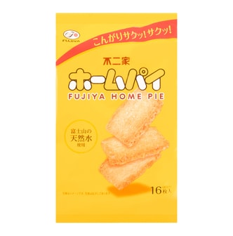 FUJIYA Home Pie Butter 16pcs 80g