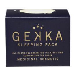 【日本直邮】日本GEKKA 保湿补水免洗睡眠面膜 80g