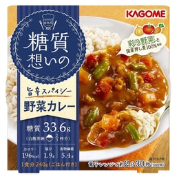 JAPAN KAGOME Sugar Free  Vegetable Curry 240g