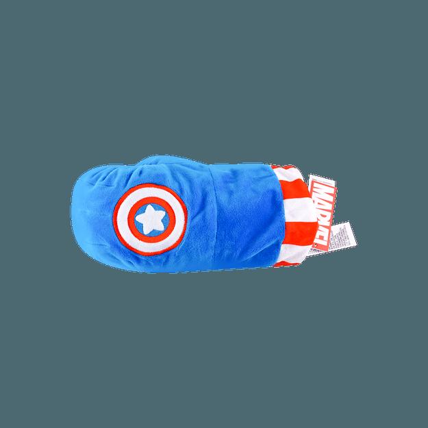 商品详情 - 名创优品Miniso 漫威系列拳套玩偶,美国队长 - image  0