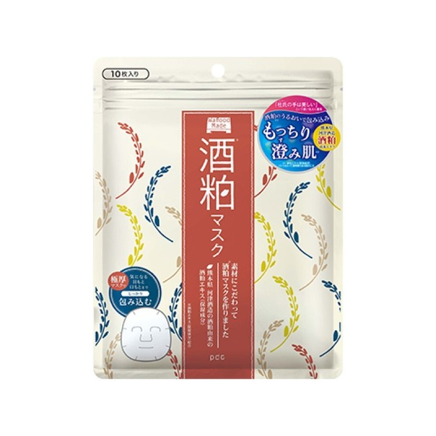 Product Detail - PDC Wafood Made SK Face Mask (Sake Lees Face Mask) 10 sheet - image 0