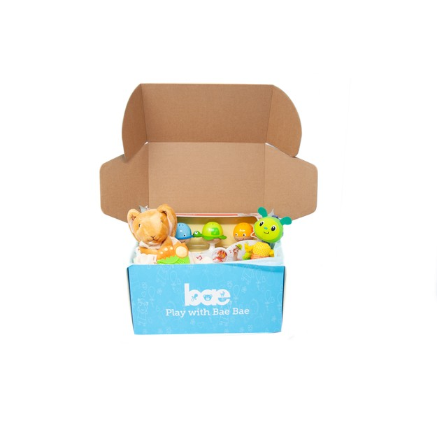 Product Detail - US Bae Bae Box 3 months baby toy box 4 pieces - image 0