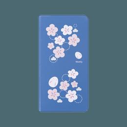 Diary Stationery Notebook Handbook #Blue Sakura