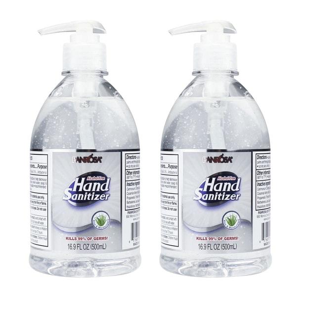 Product Detail - [Combo] USA Panrosa Hand Sanitizer Gel Alcohol Free 500ml 16.9 fl oz [2 Bottles] - image 0