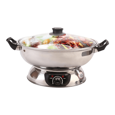 【Pre-order-Shipped in 5~15 days】SONYA Electric Shabu Hot Pot Steamboat SYHS-30(30CM) 5L