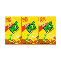 VITA Lemon Tea 250ml Pack of 6
