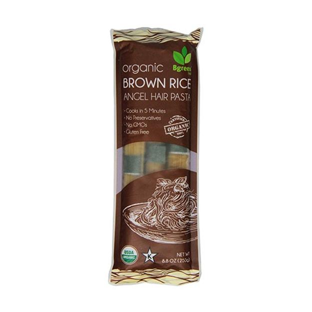 商品详情 - 家乡味BGREEN 天然有机糙米意大利面250g USDA认证 - image  0