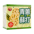 TAIJIU Sake Vinasse Chives Soda Cracker 120g