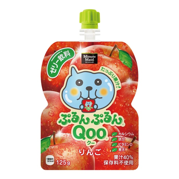 MINUTE MAID QOO Jelly Drink Mango Apple Falvour 125g