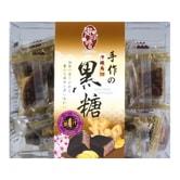 台湾御珍尝 手作冲绳角切黑糖 姜汁味 220g