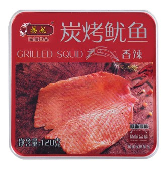 YANGHANG Grilled Squid Spicy Flavor 120g