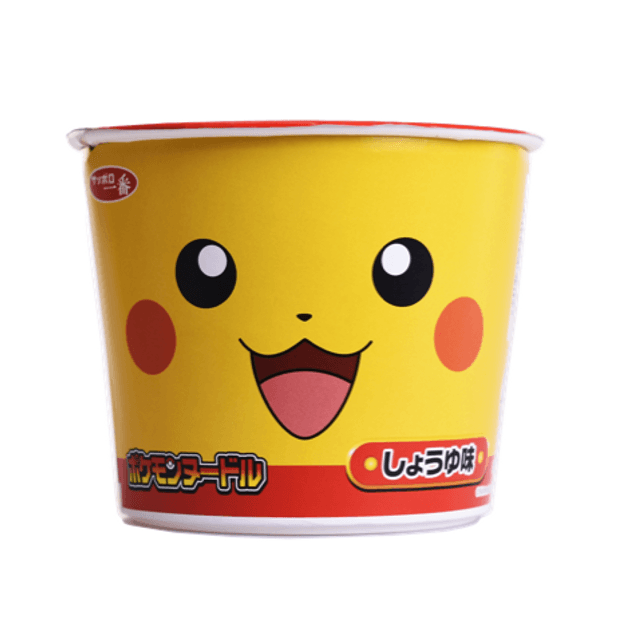 Product Detail - SANYO Sapporo No. 1 Pokemon Noodle Soy Sauce Flavor 38g - image 0