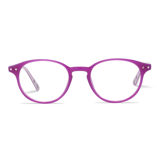 Product Detail - DUALENS Digital Protection Eyeglasses: Purple (DL75022 C2) - Lens Included - image 0