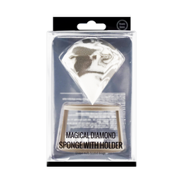 名创优品MINISO 魔法钻石粉扑 带支架 多种颜色随机发货