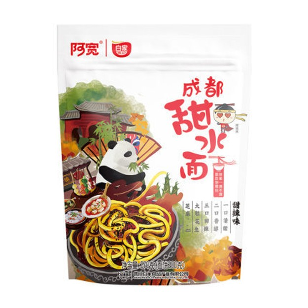 Product Detail - BJ-A-Kuan Instant Noodle Sweet Spicy 270g - image 0