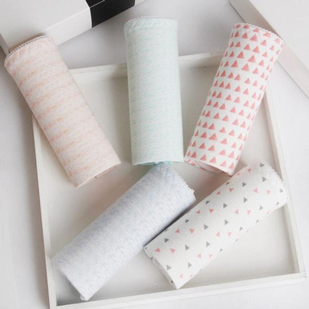 Product Detail - Langsha Ladies Briefs 5PCS Size L - image  0