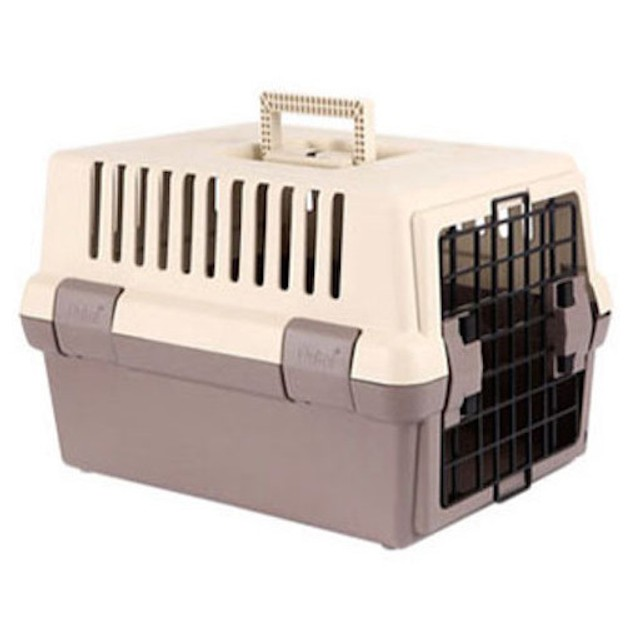 商品详情 - ALPHA DOG SERIES 宠物硬壳携带箱 #棕色 - image  0