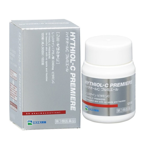 Product Detail - SS PHARMACEUTICAL Hythiol-C Premiere Skin Whitening Pills 120 Tablets - image 0