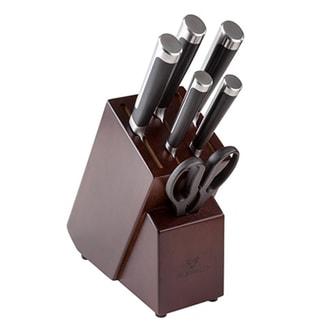 台湾BUFFALO牛头牌 完美钢刀7件组 专为华人设计