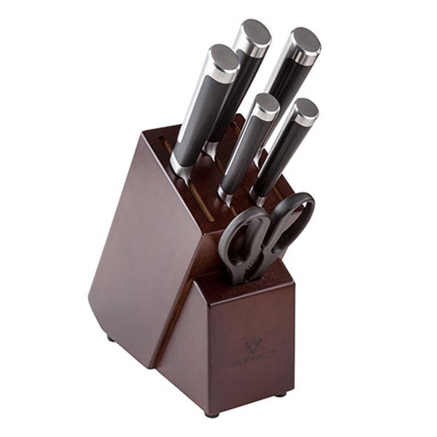 BUFFALO  MOV S/S Knife Set 7pcs