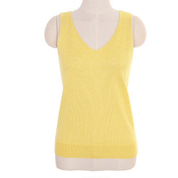 Product Detail - ATTRANGS sleeveless shirt yellow free size - image 0