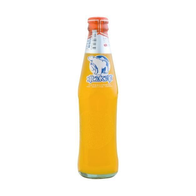 商品详情 - 北冰洋 橘子汽水 6瓶 248ml - image  0