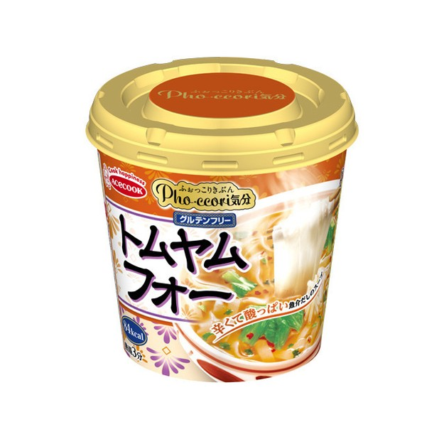 Product Detail - ACECOOK Tom Yum Flavor Rice Noodle 25g - image 0