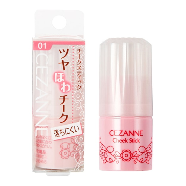 Product Detail - CEZANNE Cheek Stick #01 - image 0
