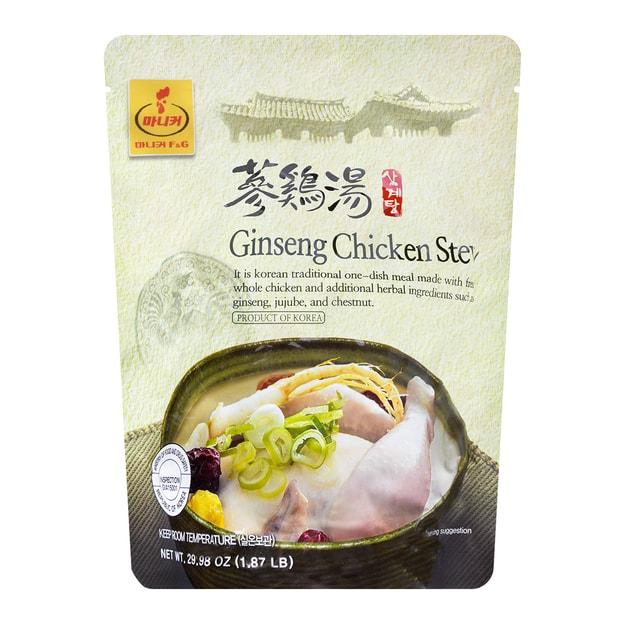 Product Detail - MANIKER Korean Traditional Ginseng Chicken Stew Samgyetang 850g - image 0