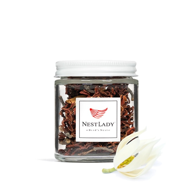 Product Detail - NESTLADY Dried Magnolia Flowers from Germany - Used in teas soaps candles bath bombs Net weight: 10g - image 0