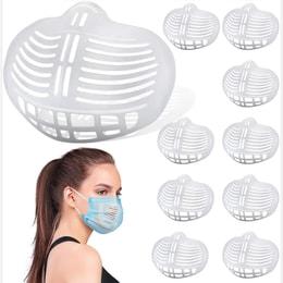 LIGHTRIVER Mask Bracket 10PCS Mask Inner Support Creating More Breathing Space.