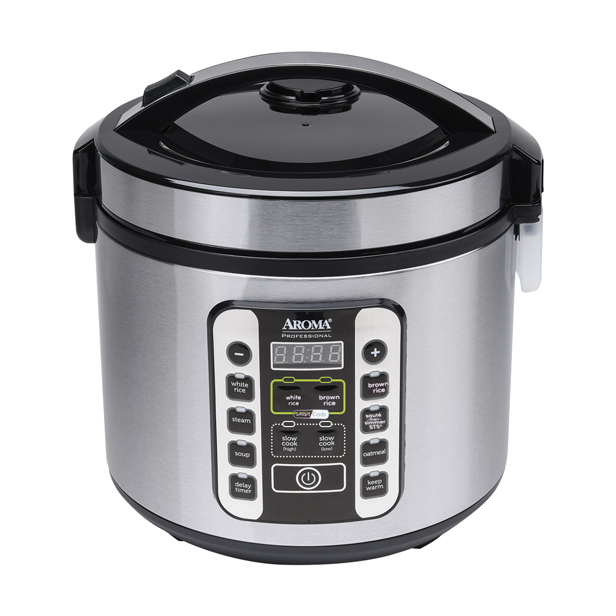 Yamibuy.com:Customer reviews:【Pre-order-Ship in 1 day】【New】Aroma Smart Carb Food Steamer Multigrain Slow Cooker 10 Cup Carbohydrate Reduced Rice