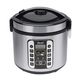 【Pre-order-Ship in 5~15 Days】【New】Aroma Smart Carb Food Steamer Multigrain Slow Cooker 10 Cup Carbohydrate Reduced Rice