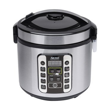 【New】Aroma ARC-1120SBL Smart Carb Food Steamer Multigrain Slow Cooker 20 Cup Carbohydrate Reduced Rice