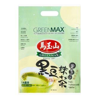 GREENMAX Black Soybean with Green Tea Drink 14pcs