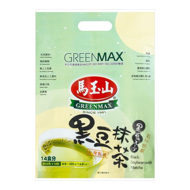 商品详情 - 台湾马玉山 黑豆抹茶 14包入 420g - image  0