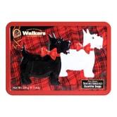 苏格兰WALKERS 苏格兰皇家奶油系列 梗犬造型黄油曲奇饼干礼盒 220g